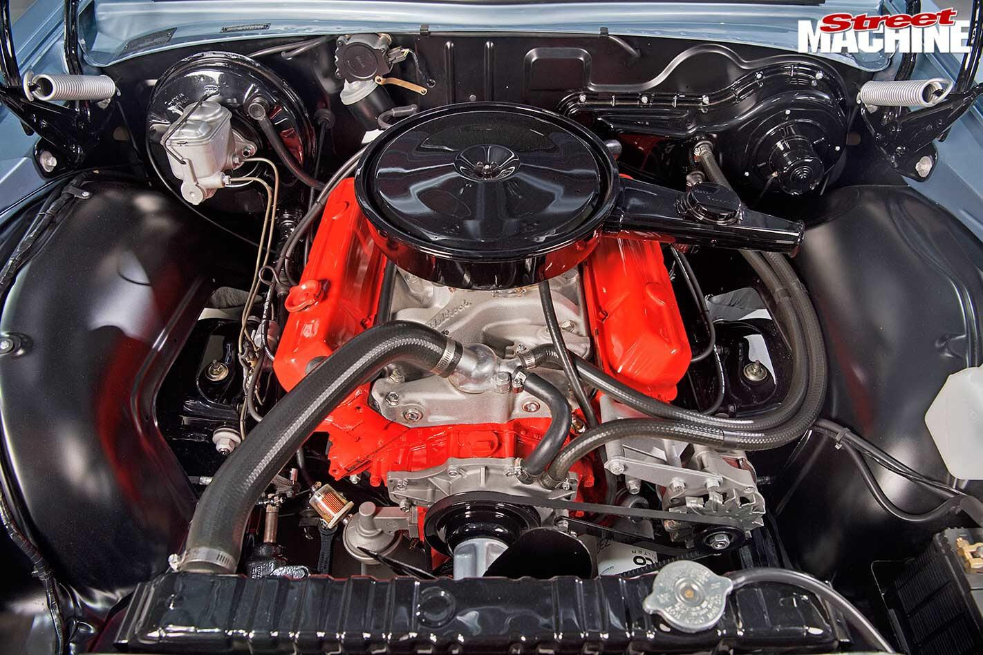 Holden Sandman ute engine bay