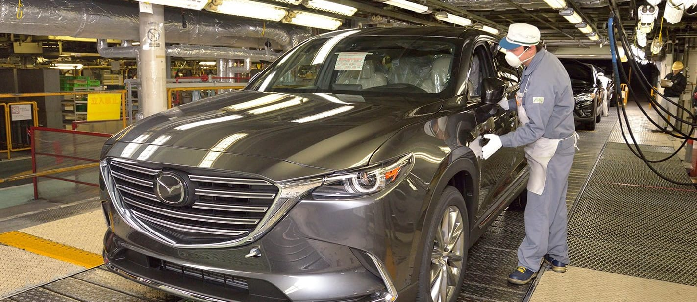 Mazda CX 9 Front Production Linbe Jpg