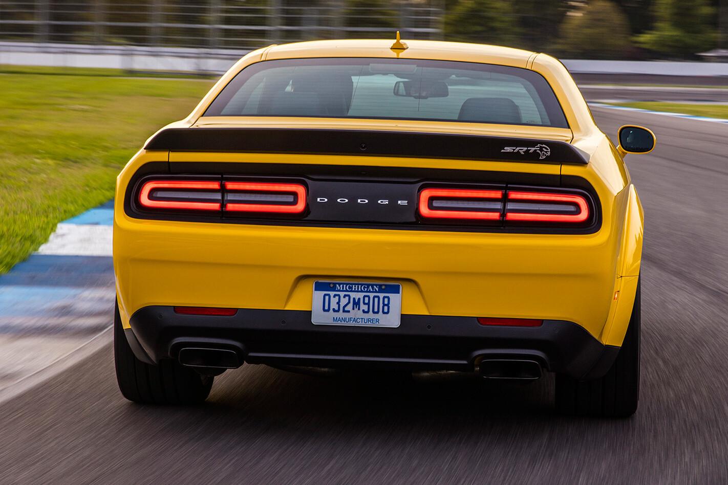 2018 Dodge Challenger Hellcat Widebody rear