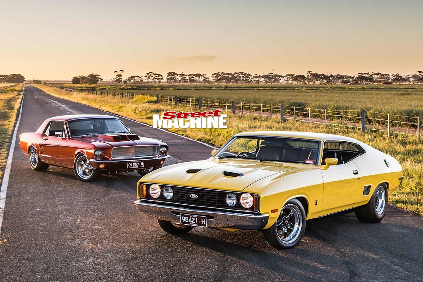 Ford Mustang & XC Falcon