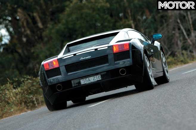 Performance Car Of The Year 2004 Winner Lamborghini Gallardo Road Drive Jpg
