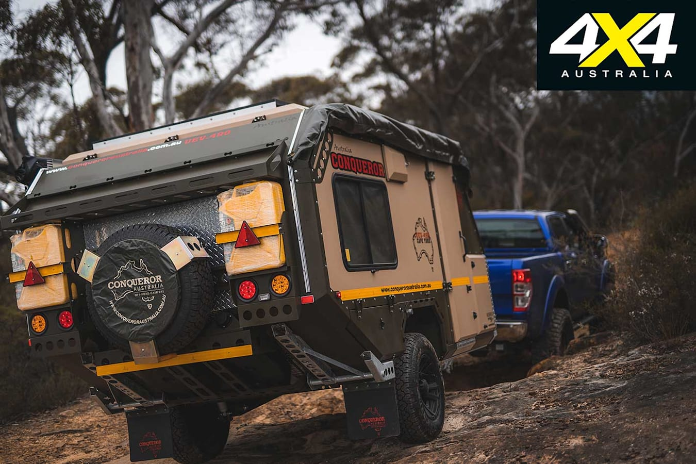 Conquerer UEV 490 Camper Trailer Specifications Jpg