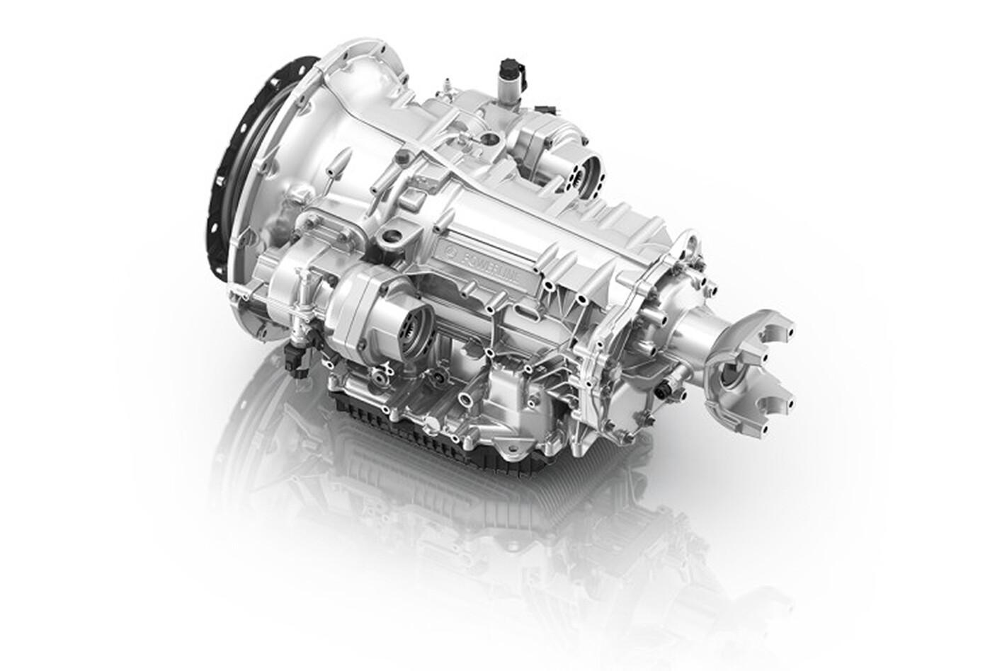 ZF PowerLine 8-speed automatic transmission