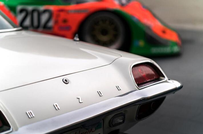 Mazda Cosmo Rear Jpg