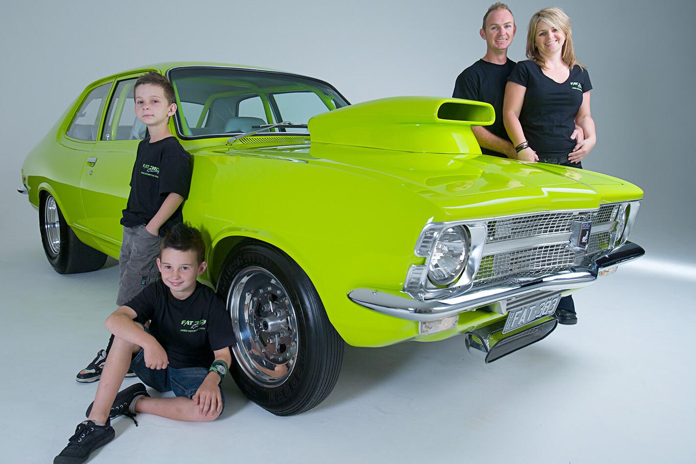 Tony Wilkins and family