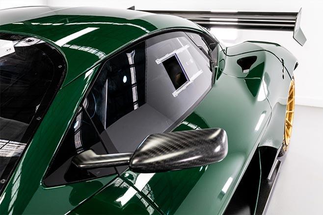 Brabham BT62 Competition window