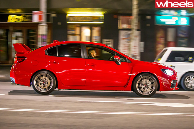 Subaru -WRX-STi -side