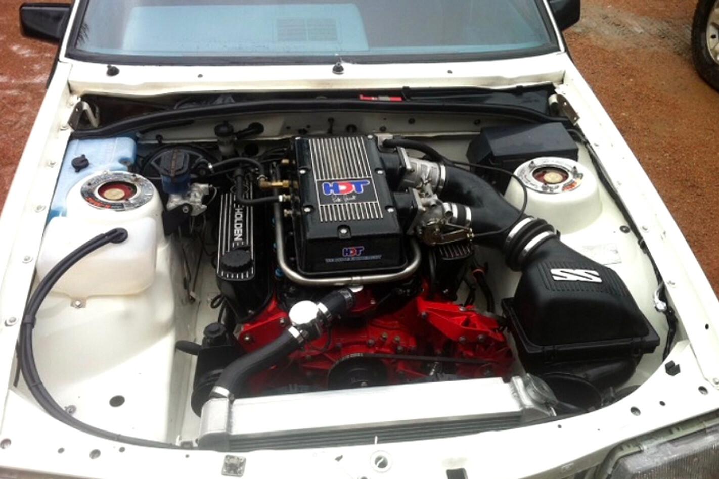 HDT engine bay