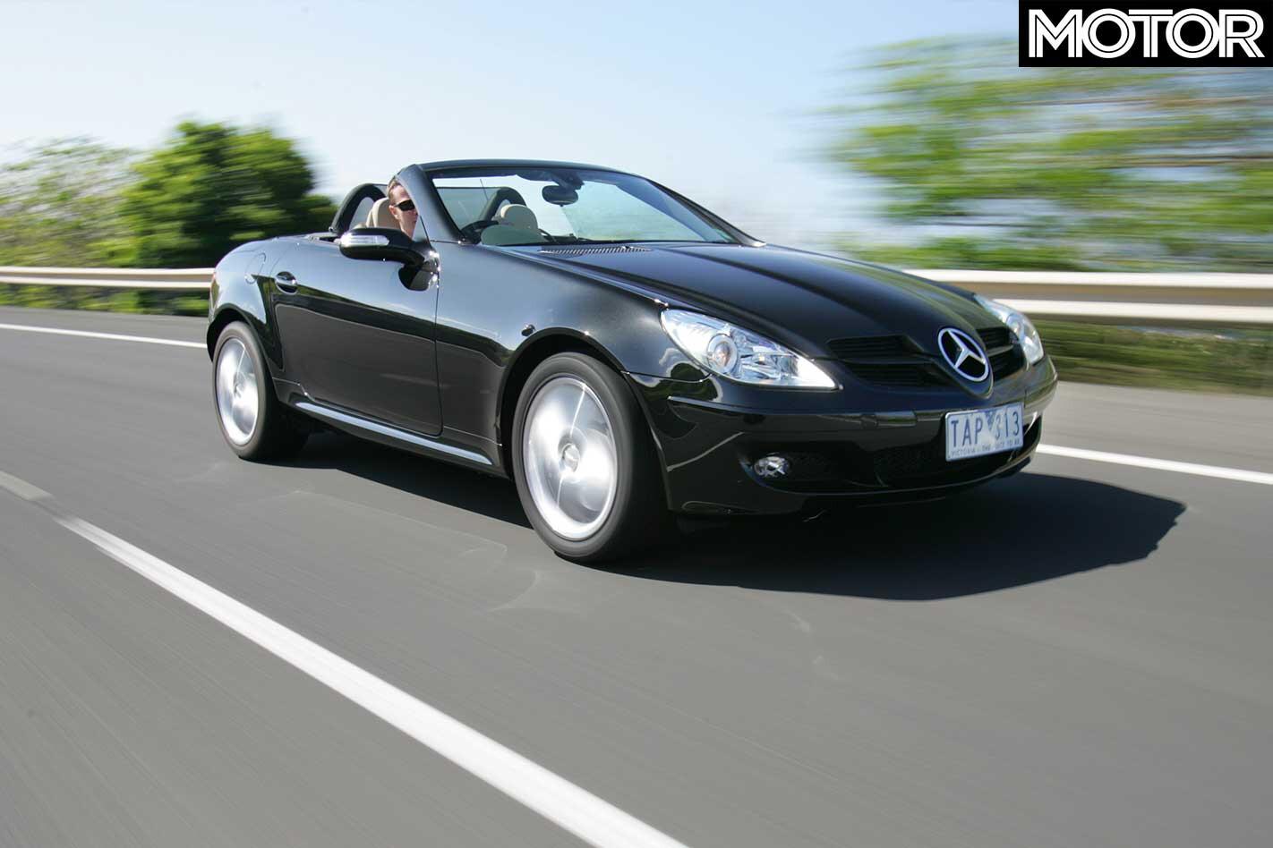 2004 Mercedes Benz SLK 350 Front Design Jpg