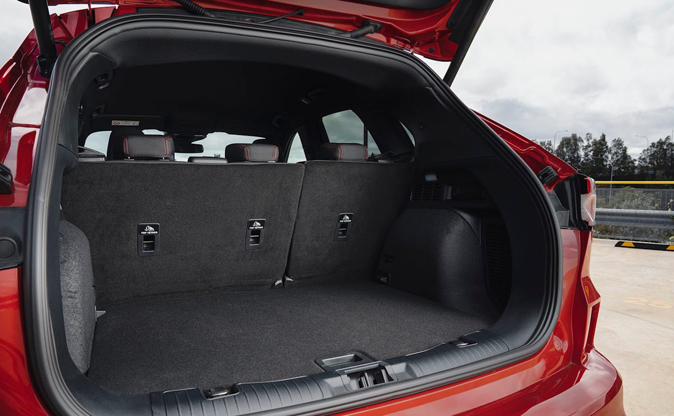 Ford Escape BOOT SPACE
