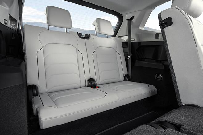 2017 Volkswagen Tiguan Allspace rear seats