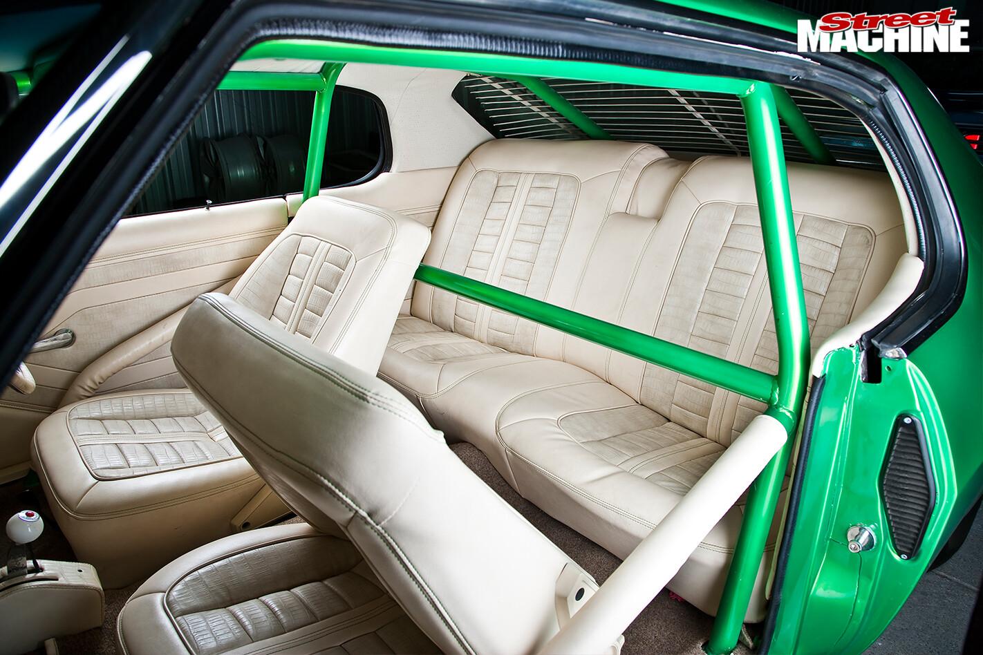 Holden -hq -interior -rear