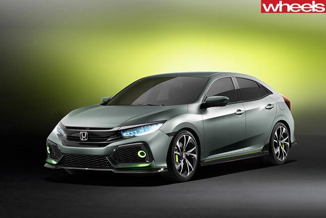 Honda -Civic -Concept -front -side