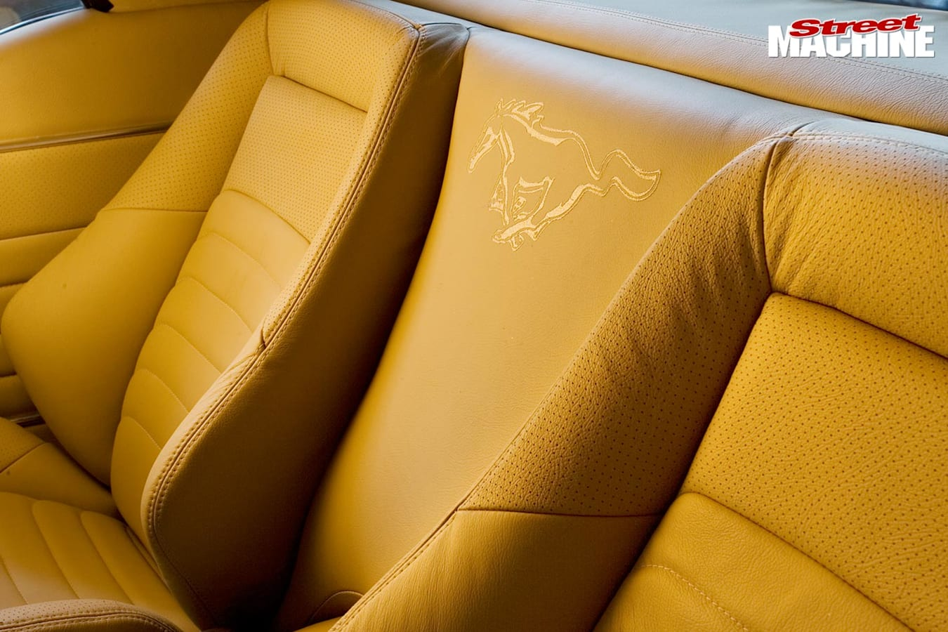 Ford Mustang rear seats