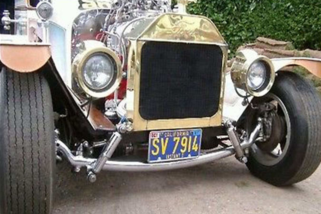 Bonzo's Model T front