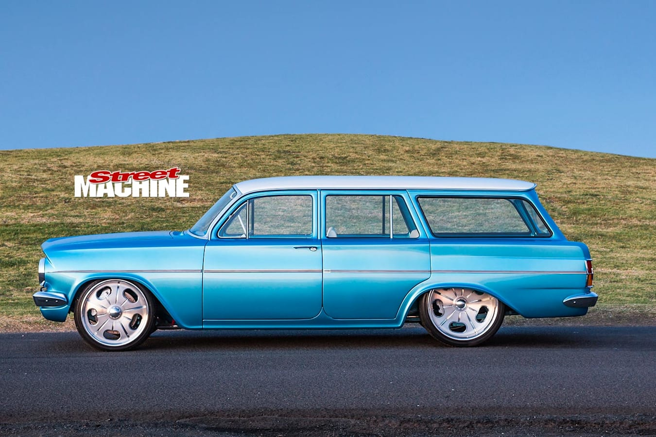 Holden EH wagon side