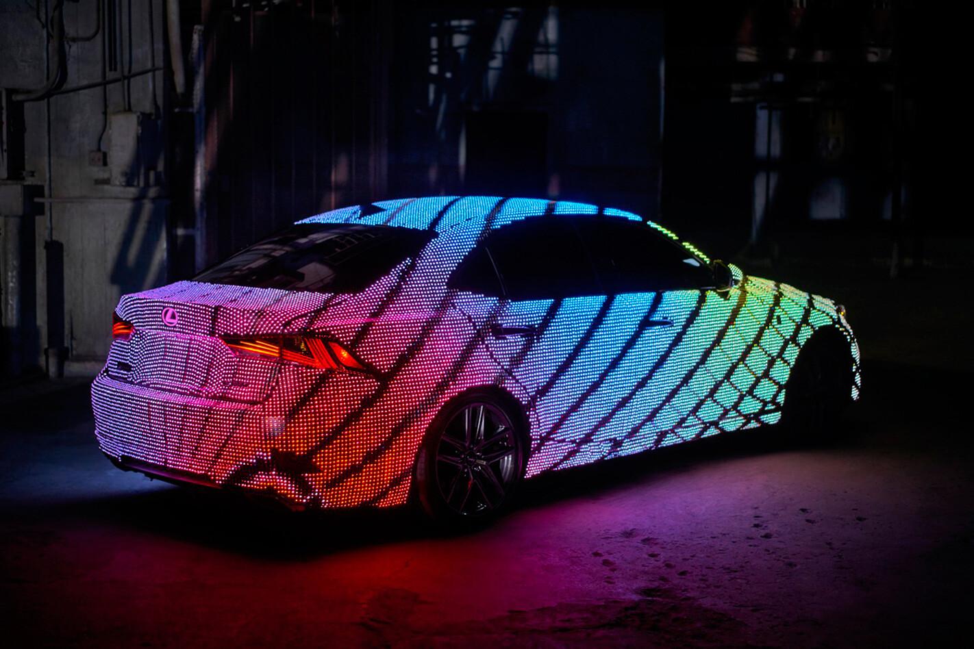 Lexus Is 2016 Led Rear Jpg