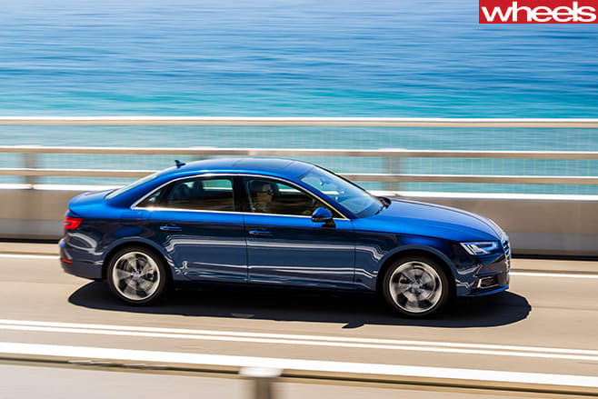 Audi -A4-driving -side