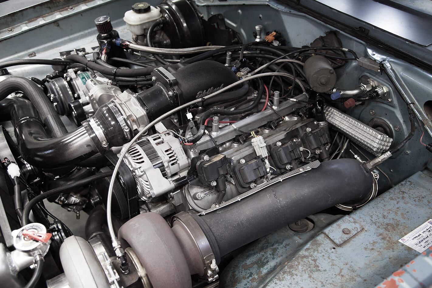 POR440 Valiant engine