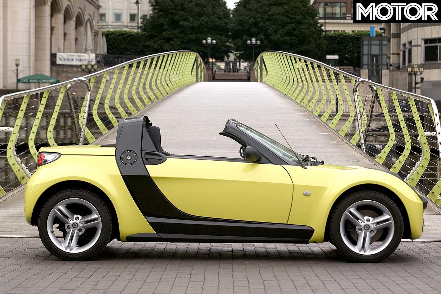 2004 Smart Roadster Side Profile Design 281 29 Jpg
