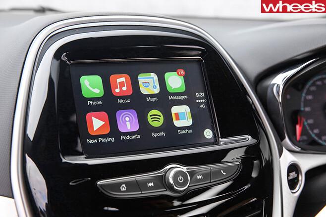 Holden -Spark -touchscreen