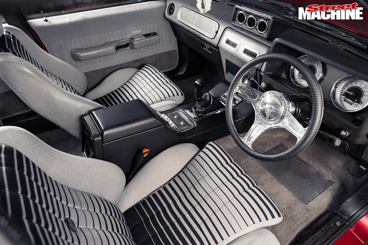 Ford XD Fairmont interior