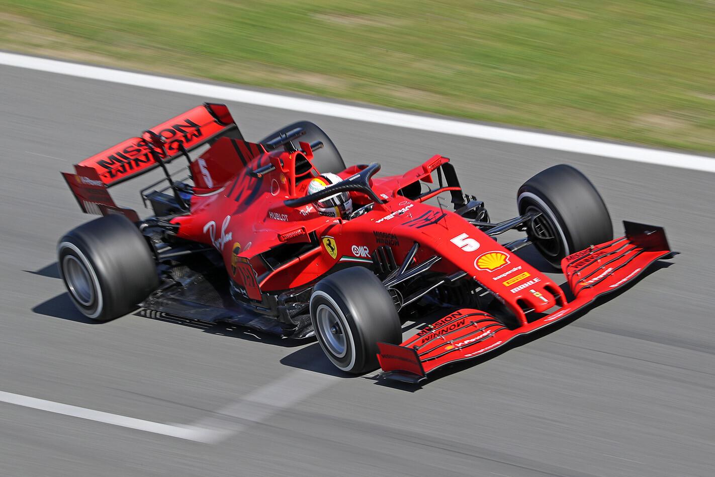 Vettel To Leave Ferrari Driving Jpg