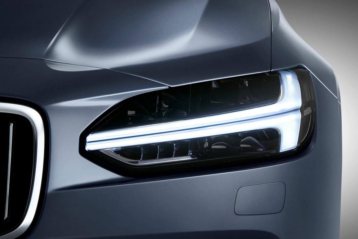 Volvo S90 Polestar Thors Hammer Headlights