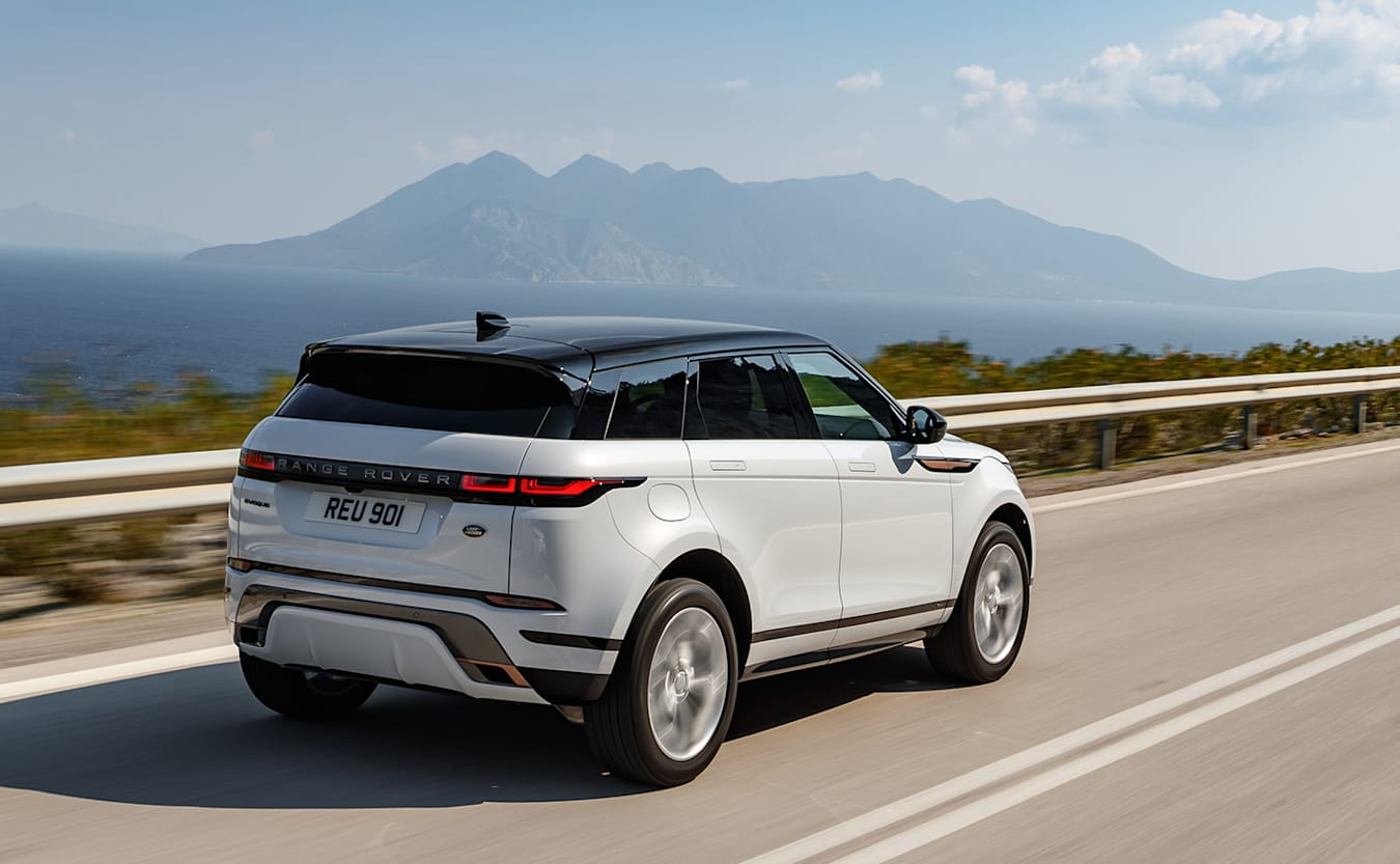 range rover evoque rear