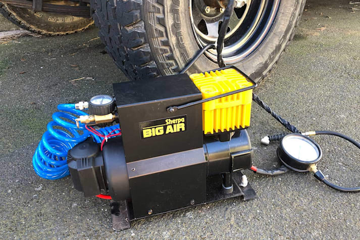 Sherpa Big Air compressor