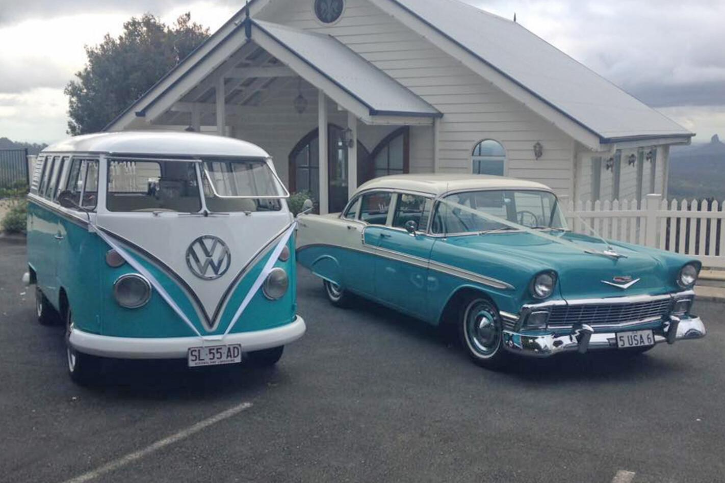 Ross Dunstan's wedding cars