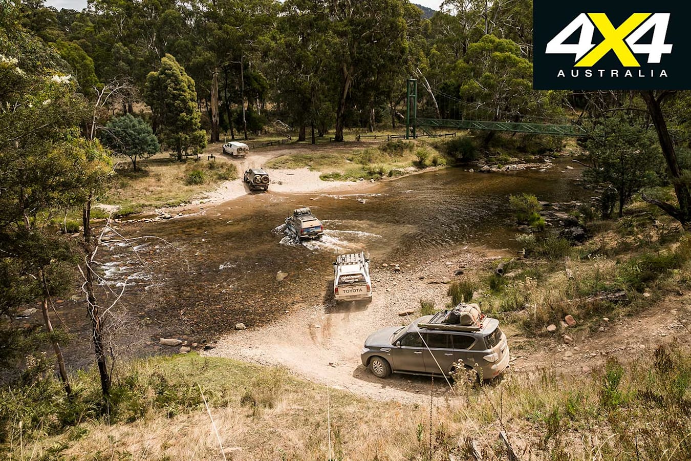 Victorian High Country 4 X 4 Adventure Series River Crossing Jpg