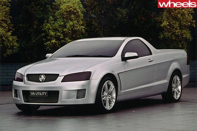 Holden -2-door -sports -ute -front