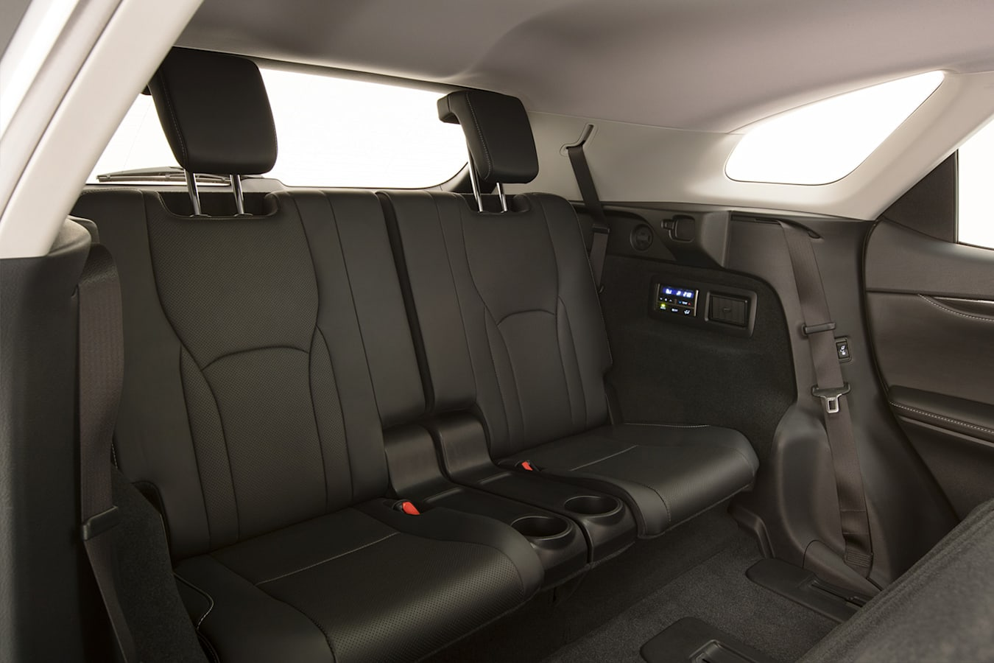 Lexus RX 350 L Interior Third Row Jpg