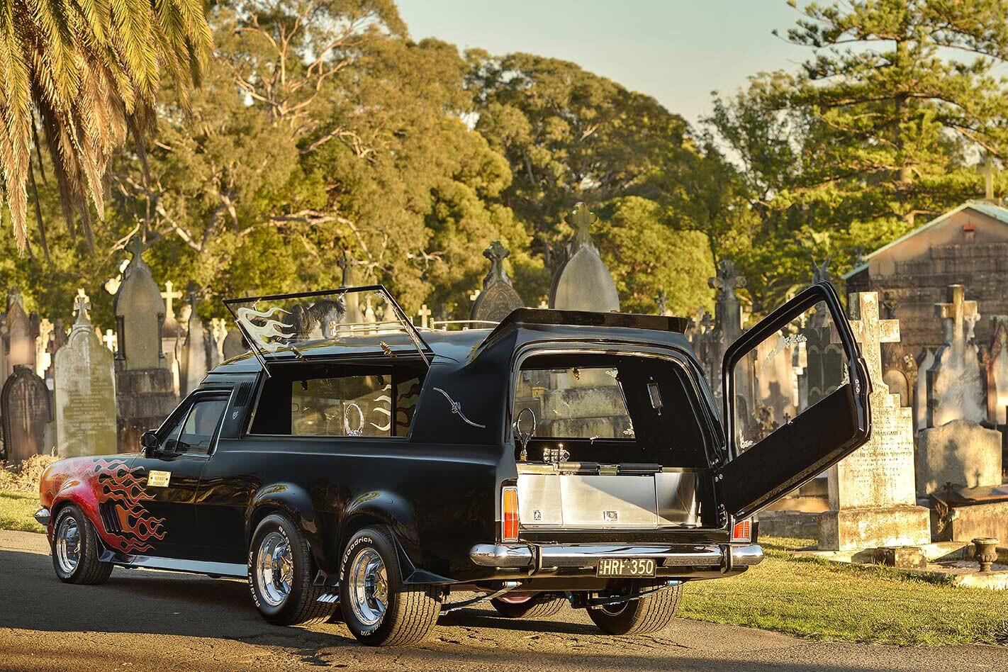 Holden HT hearse