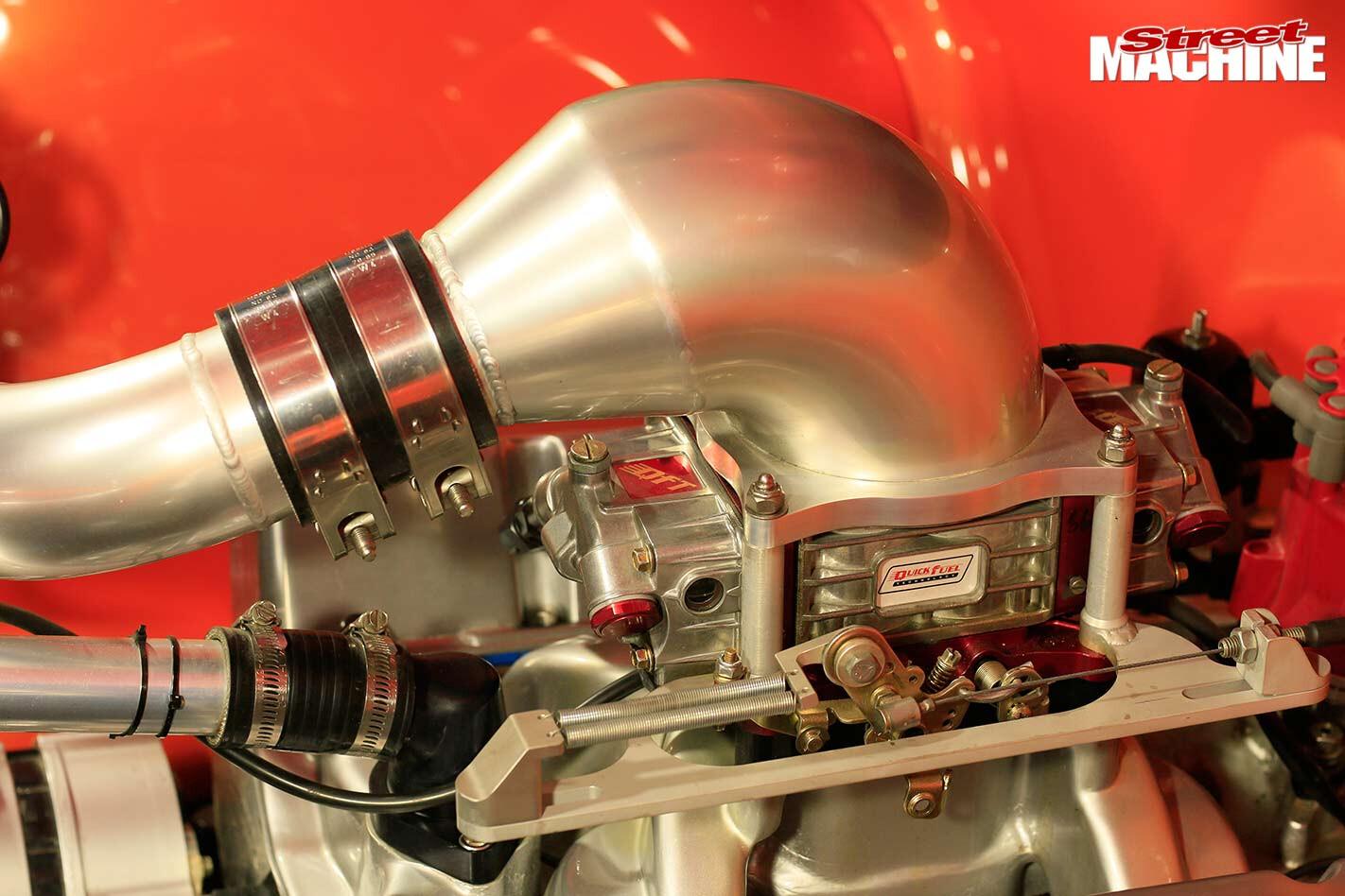 C10 stepside pick-up engine