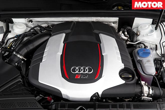 Audi RS5 TDI Concept engine