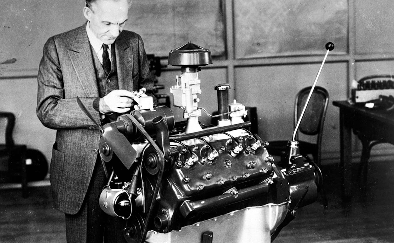 Henry Ford Flathead V8 engine
