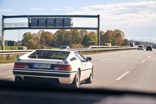 BMW M1 autobahn