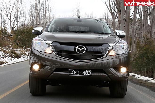 Mazda -BT-50-front -shot