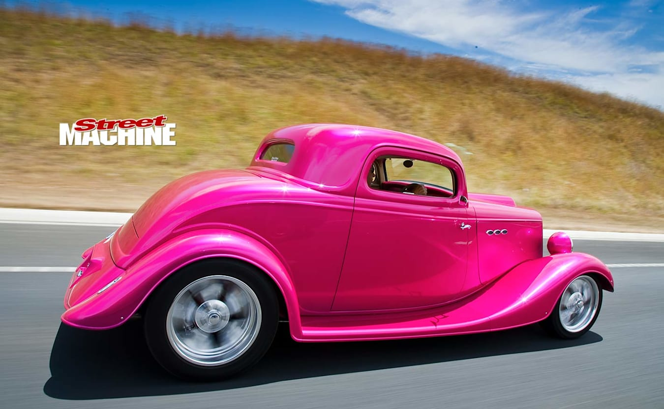 Ford Coupe onroad