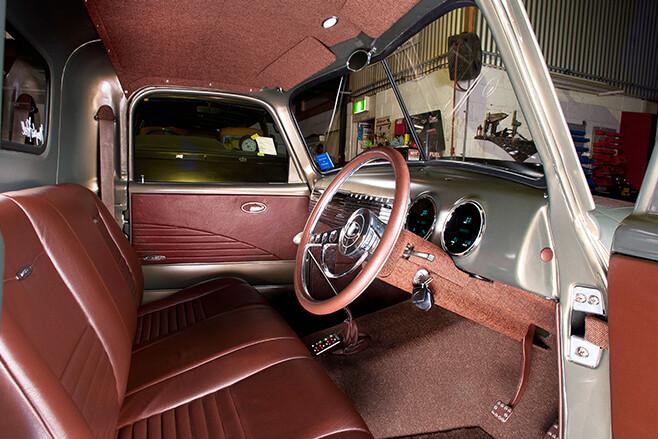 1951 Chevrolet Pickup interior