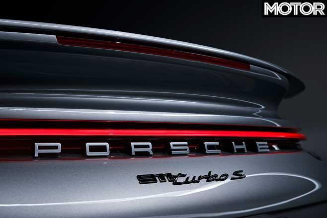 Porsche 992 911 Turbo Badge Jpg