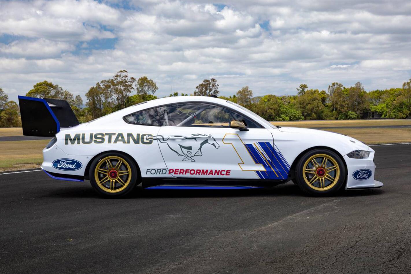 Mustang Supercar Side Jpg