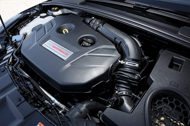 2017 Ford Focus RS engine