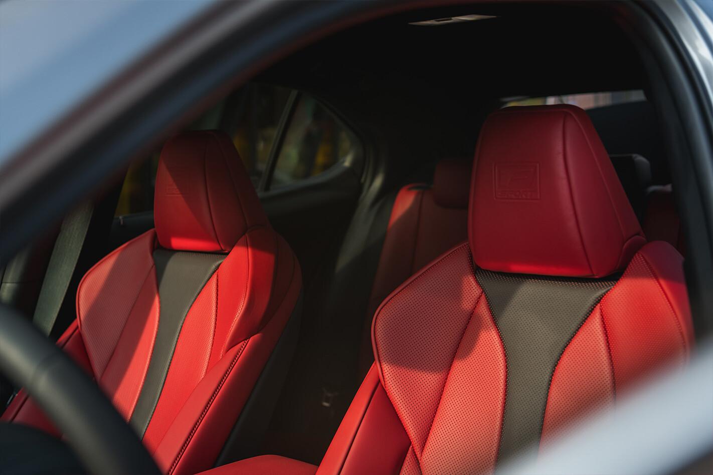 Lexus Ux Seats Jpg
