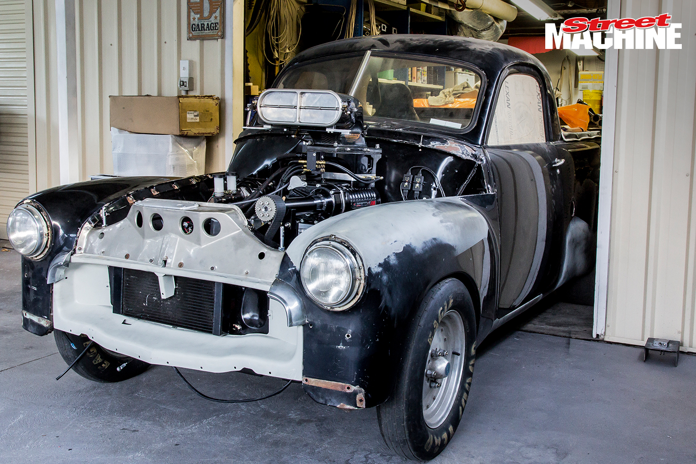 Holden 186 Supercharged Engine 6 Nw