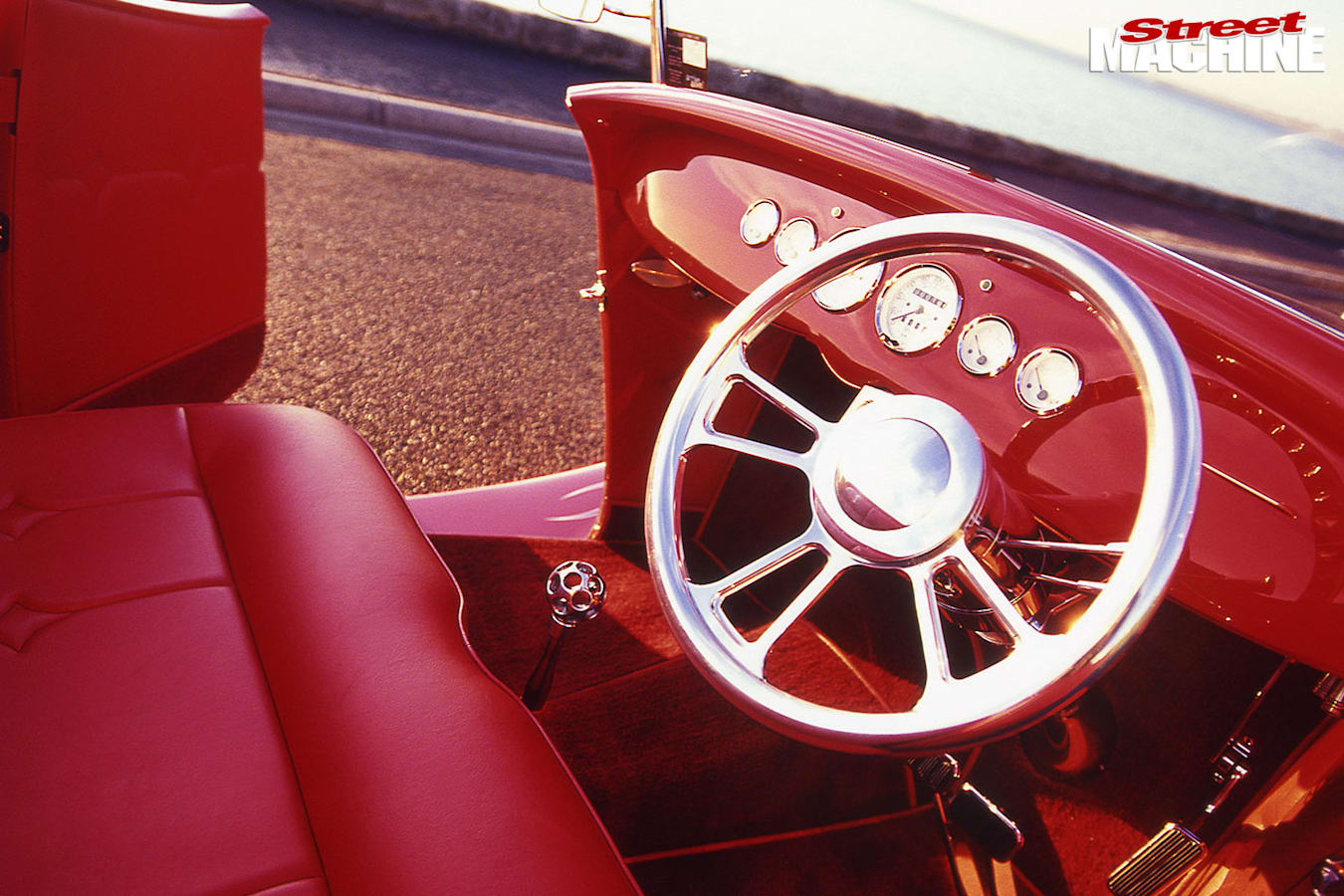 Ford Roadster dash