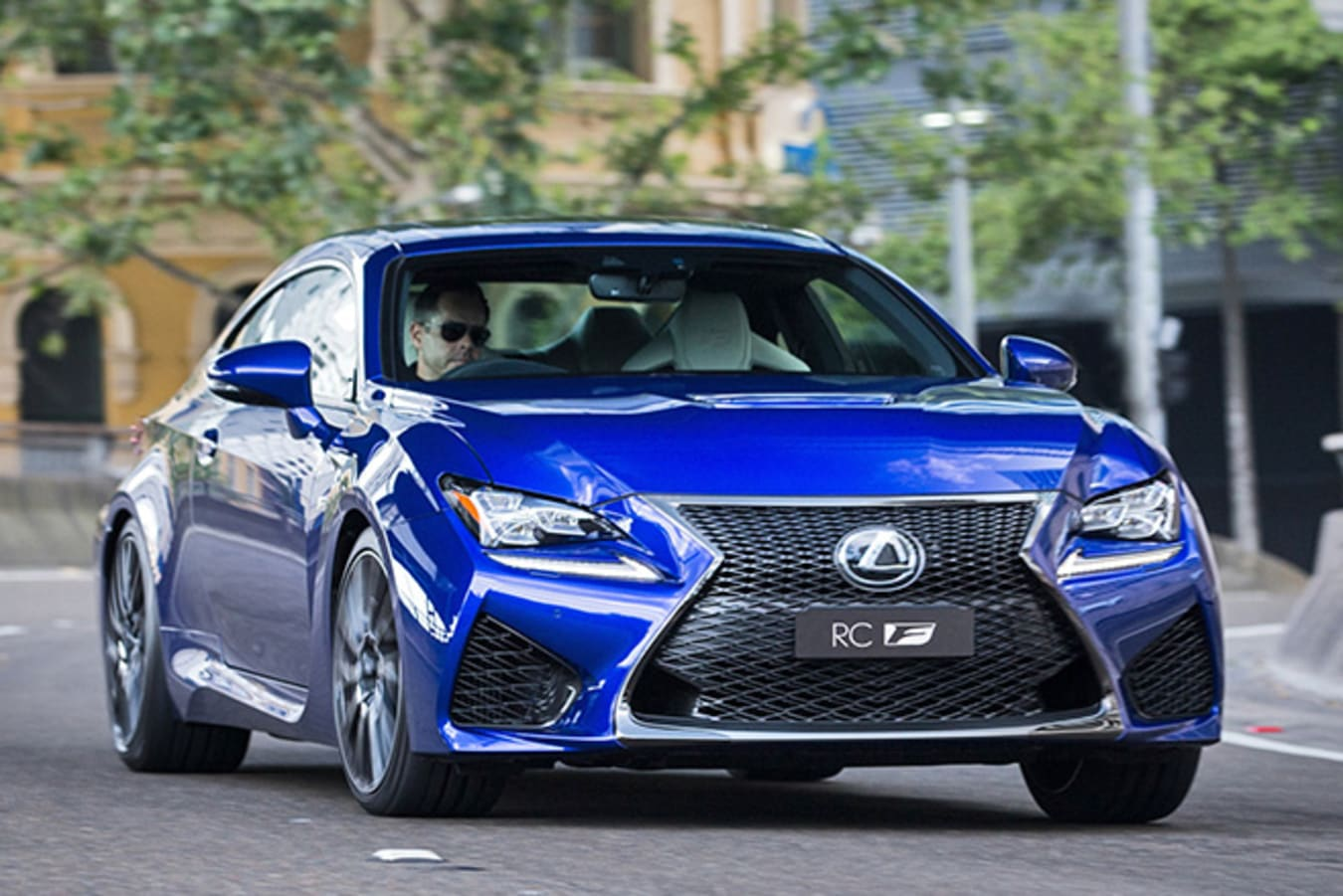 Lexus RC F Front driving