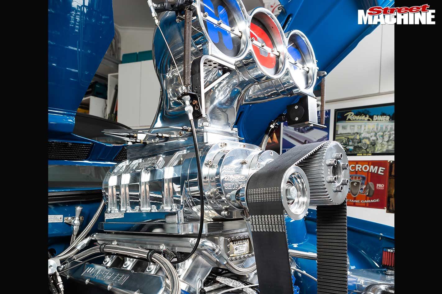 Tony Murr hot rod engine